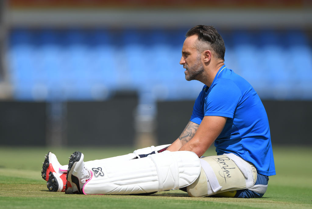 Faf du Plessis steps down as South Africa's captain with immediate effect