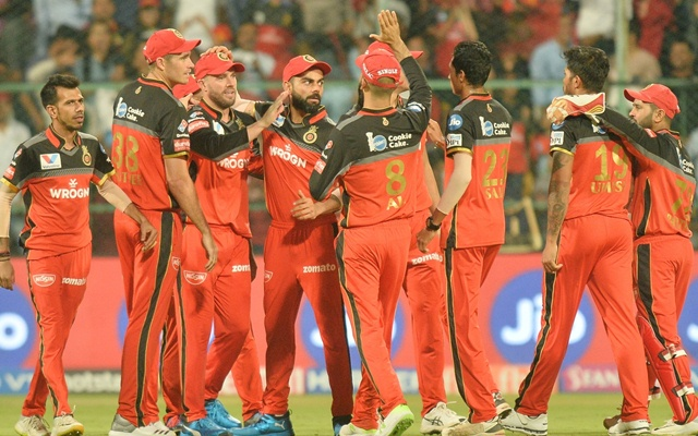 Royal Challengers Bangalore ready for an update before IPL 2020