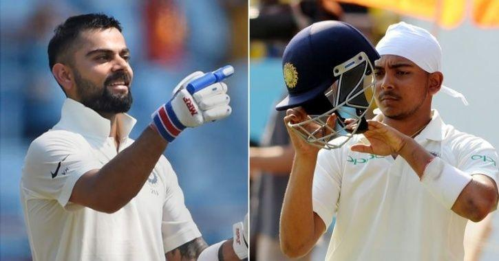 """""""He is very destructive and needs to be given chances to feel more confident,"""" Virat Kohli"""