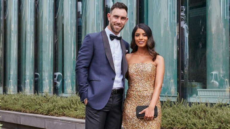 Glenn Maxwell gets engaged to his long time Indian girl-friend Vini Raman