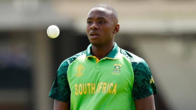 Kagiso Rabada Ruled Out Of Action For Four Weeks