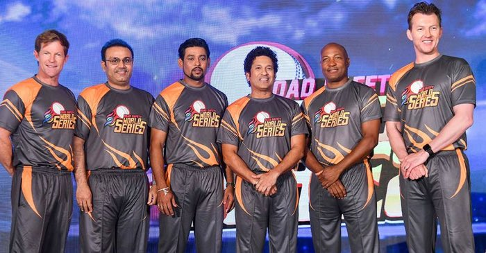 Sachin and Lara to face off in Road Safety World Series opener