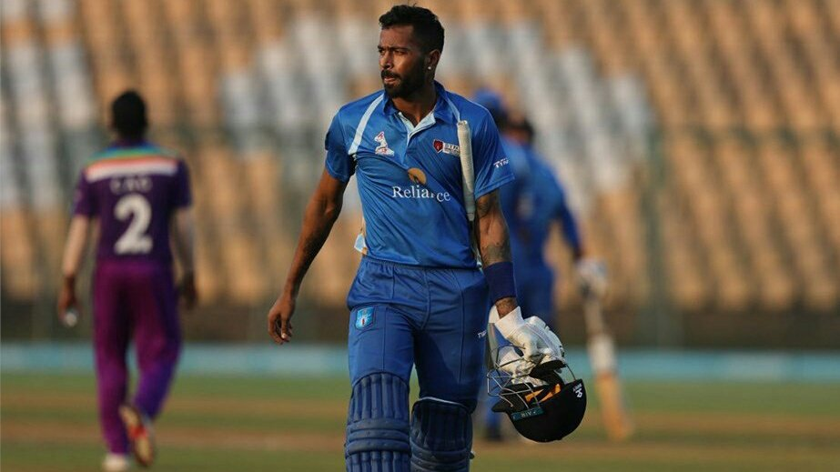 Hardik Pandya hits another century in DY Patil T20 Cup