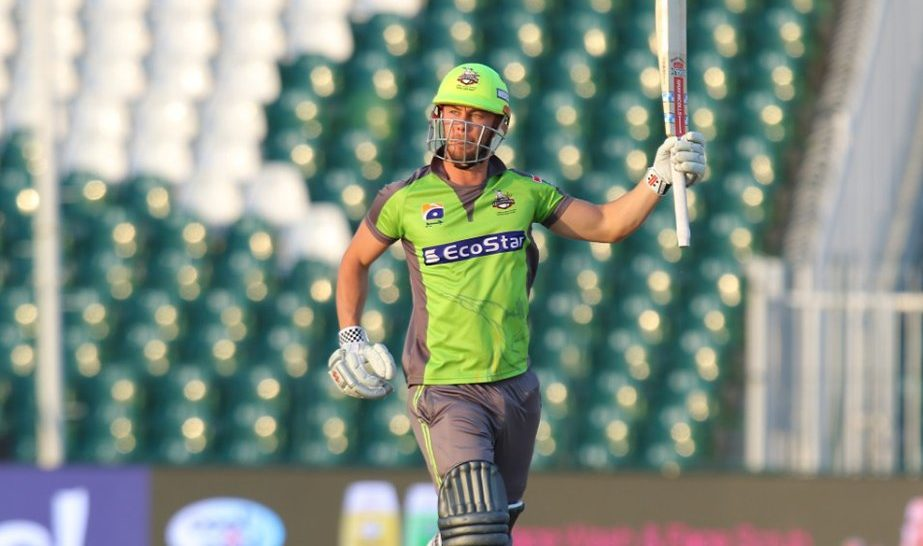 Chris Lynn scores unbeaten 113 runs in the 29th match of PSL 2020