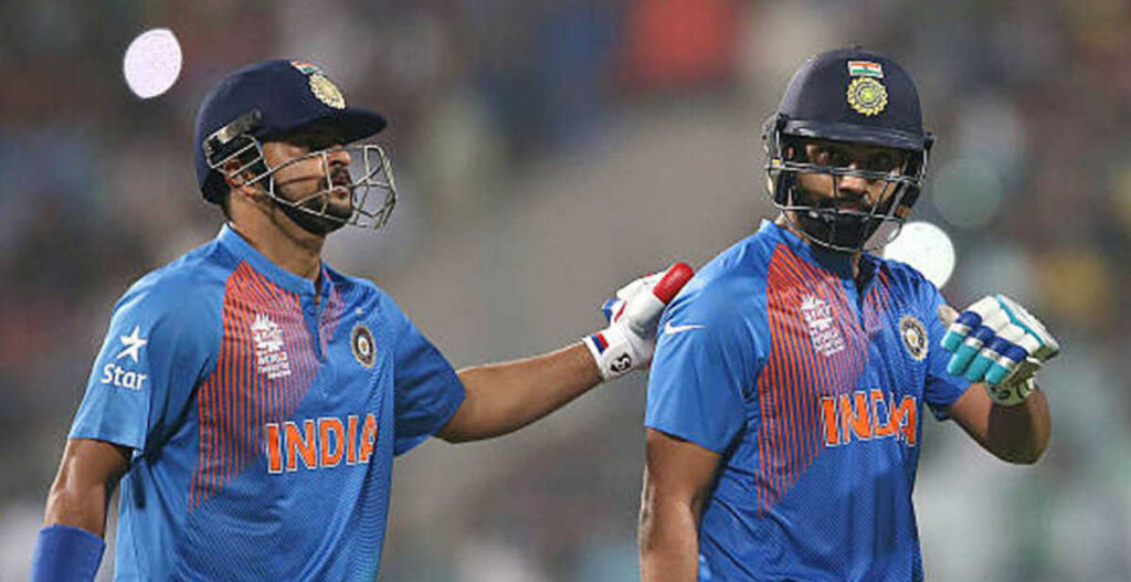 Rohit Sharma response on Suresh Raina's comment