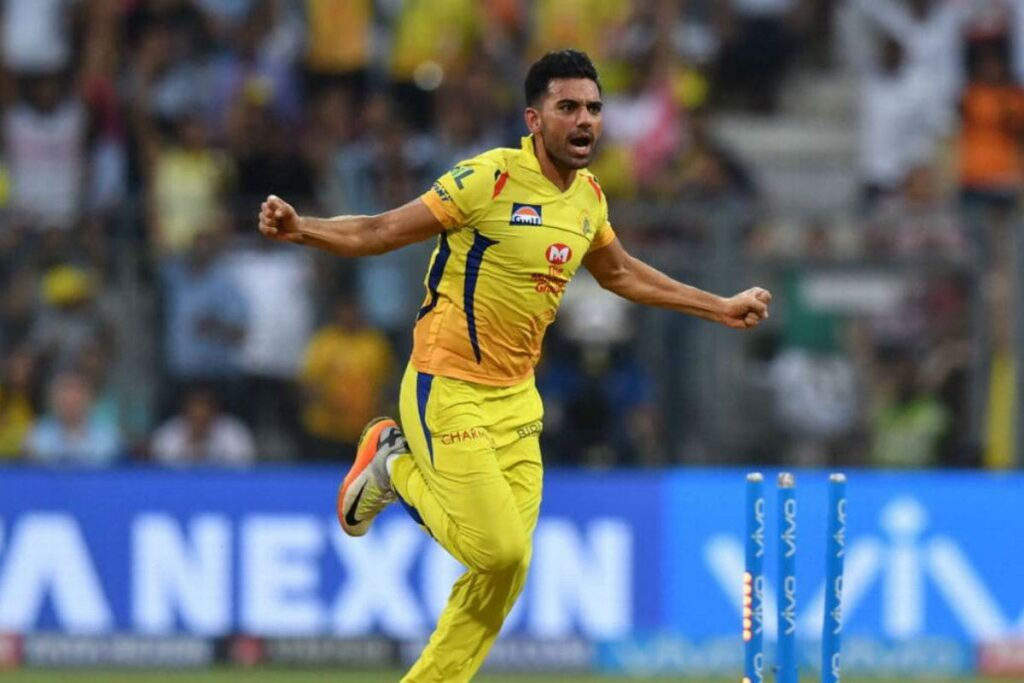 Deepak Chahar in Quarantine After Testing COVID-19 Positive