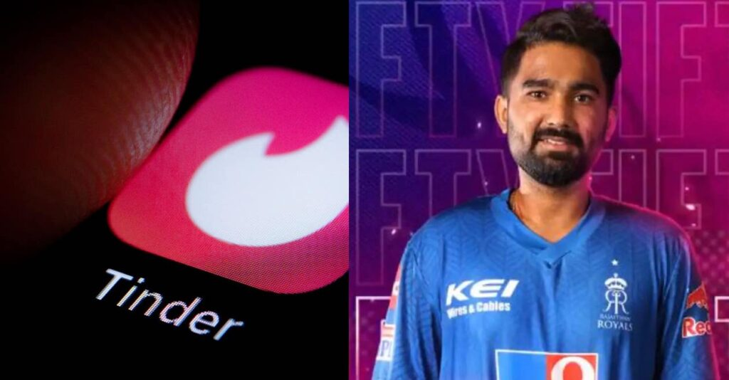 Tinder India comes up with an interesting tweet after Tewatia's heroics last night