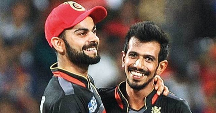 Chahal gets trolled himself after a comment on Virat Kohli's post