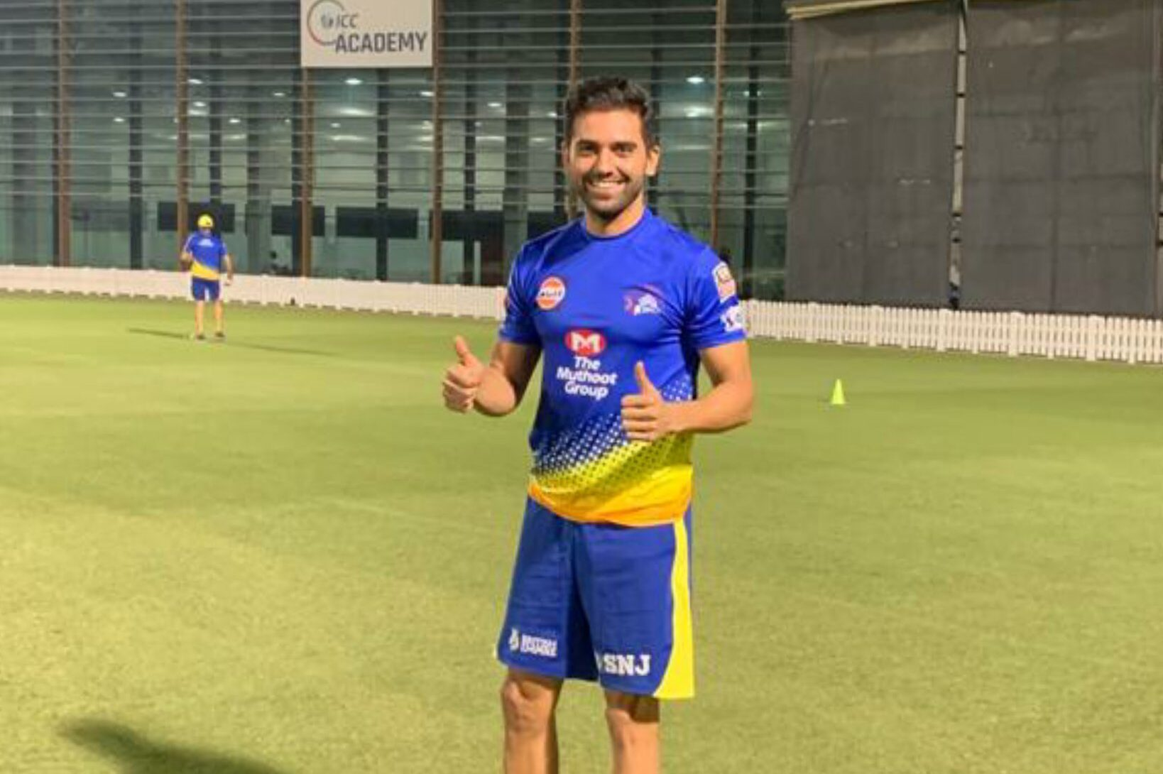 Deepak Chahar rejoined the CSK team after recovering from COVID-19