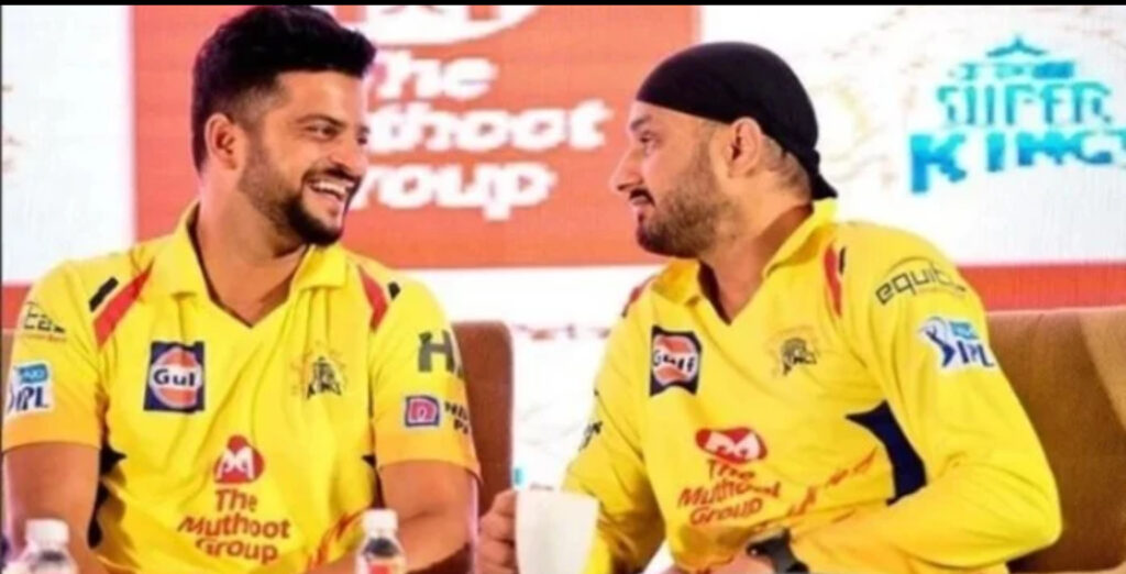 CSK to end contracts with Suresh Raina and Harbhajan Singh