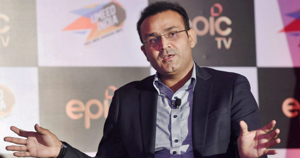 This is KXIP's actual place in points table: Virender Sehwag