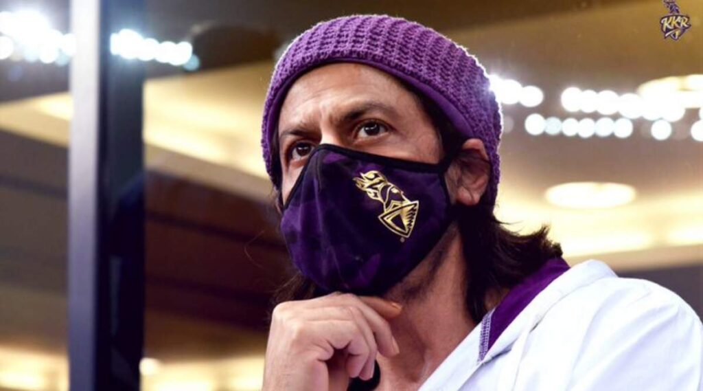 Shah Rukh Khan gives an epic reply to a fan asking about KKR's playoff chances
