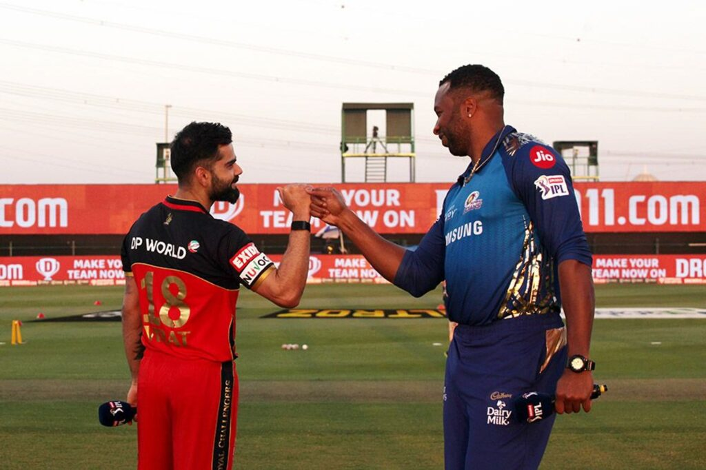 Mumbai Indians takes a dig at Virat Kohli after SKY had a heated moment with Indian skipper
