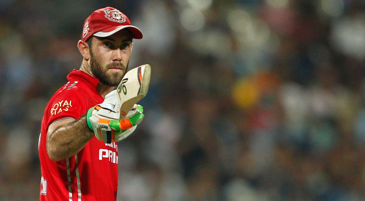 Glenn Maxwell reacts to the statement '10-crore cheerleader' given by Virender Sehwag