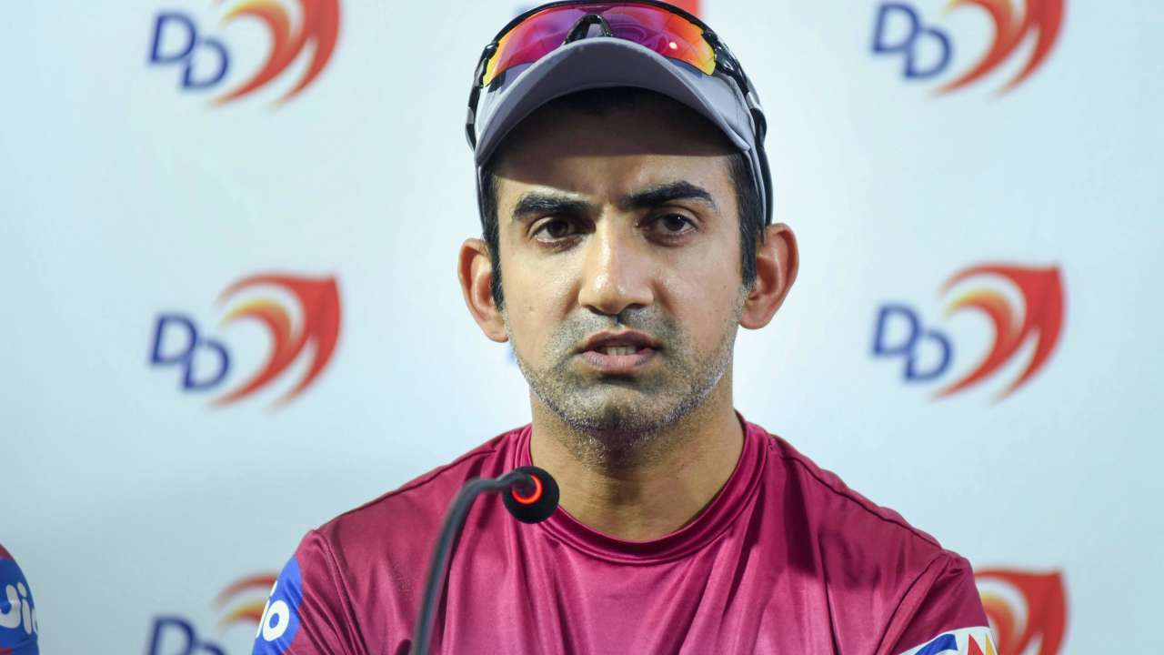 Gautam Gambhir self isolates himself after a member of family tested Covid-19 positive