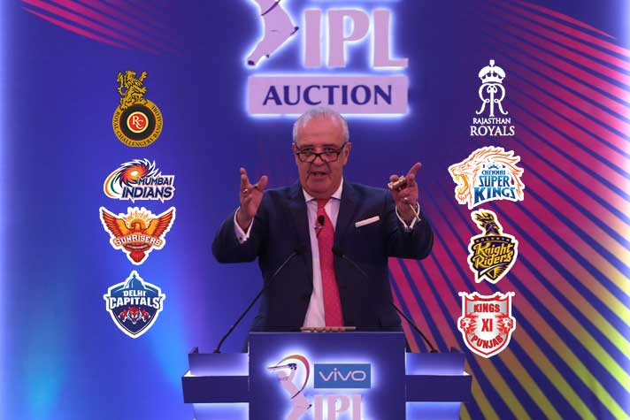 The mini- auction of 14th edition of the IPL likely to take place on 18th February
