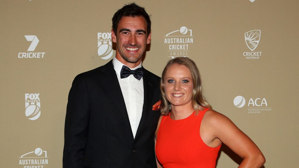 Alyssa Healy defends her Husband Mitchell Starc