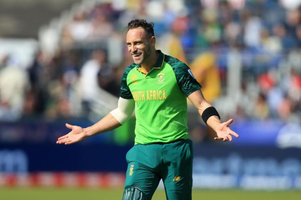 A Hilarious picture posted by ICC in which Faf Du Plessis was there