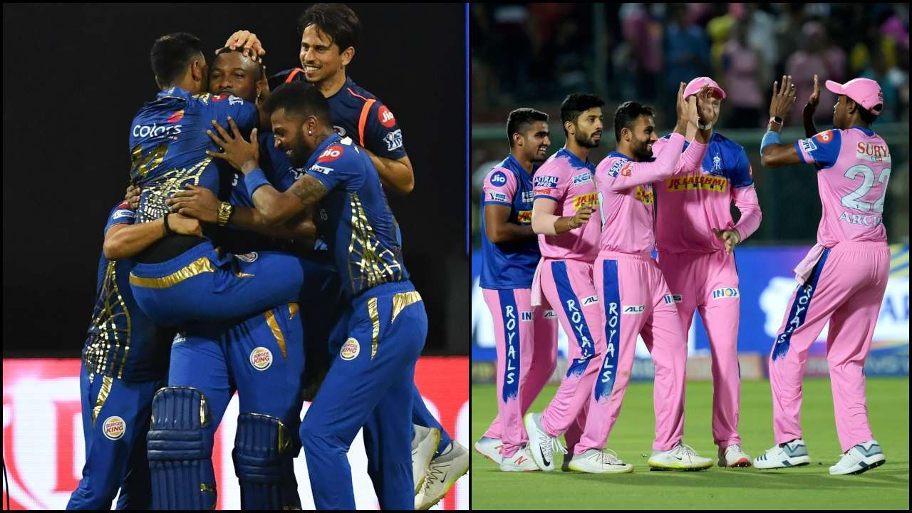 MI and RR teams for the IPL 2021