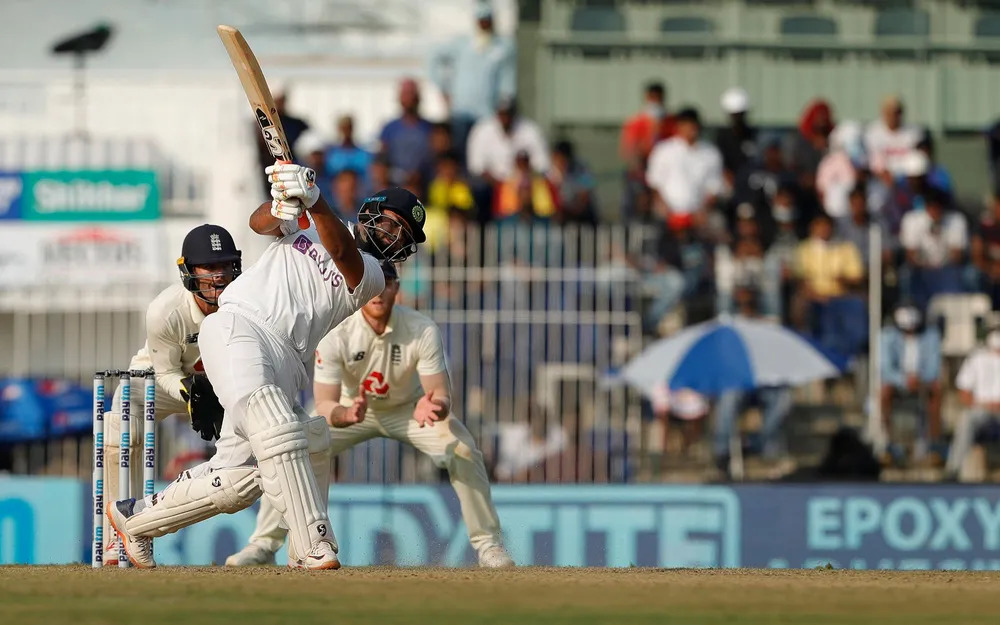 Rishabh Pant in the ongoing Second Chennai Test