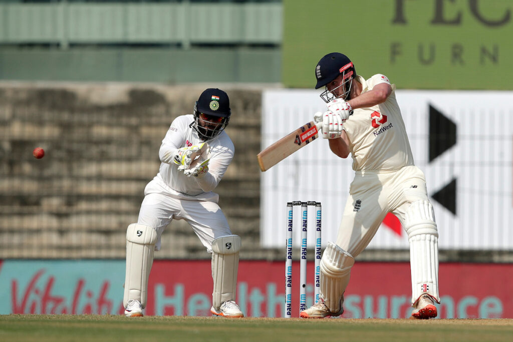 Rishabh Pant sledges in the first Test against England