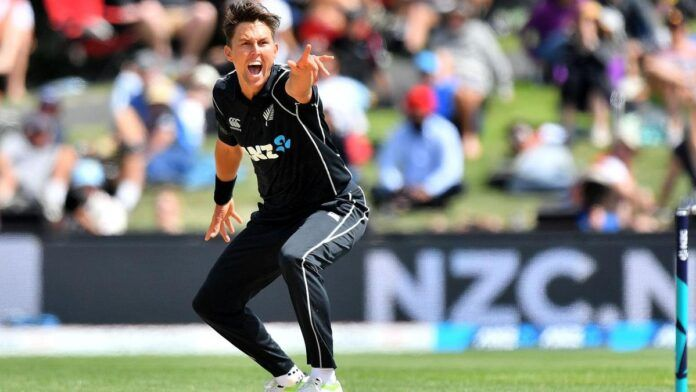 Trent Boult took a blistering catch