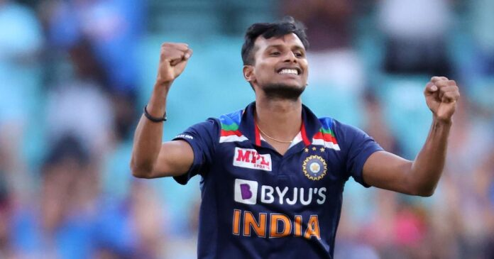 T Natarajan didn't featured in the BCCI announced Annual Central Contract 2020-21