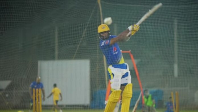 cheteshwar pujara hits sixes in the training session Ahead of IPL-2021