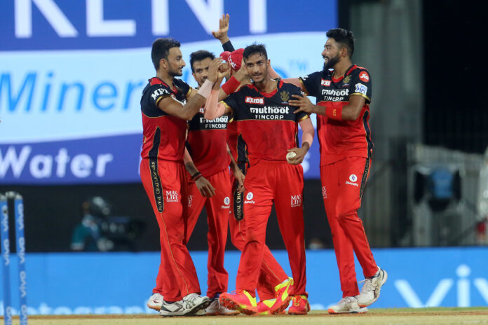 Royal Challengers Bangalore players seemed in a interaction session