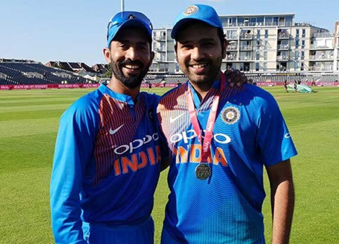 Rohit Sharma's maiden international fifty was came from The wicket-keeper's bat