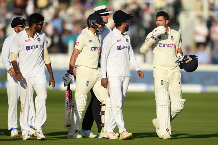 Anderson's statement over Jasprit Bumrah while playing at Lord's Test