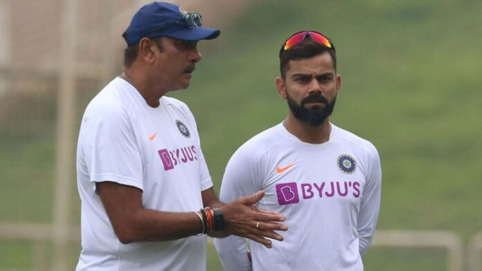 BCCI criticised Kohli and Head Coach Shastri for attending an unauthorised event
