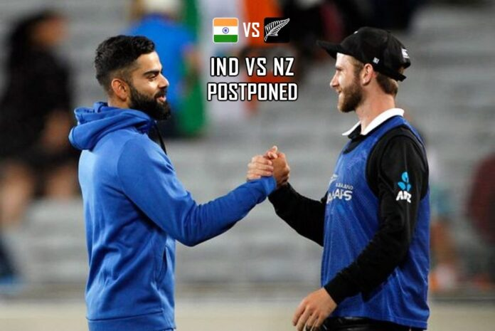 Postponed of India's Tour of New Zealand till 2022