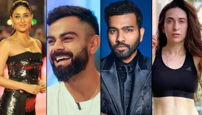 Six Indian cricketers and their Bollywood crushes