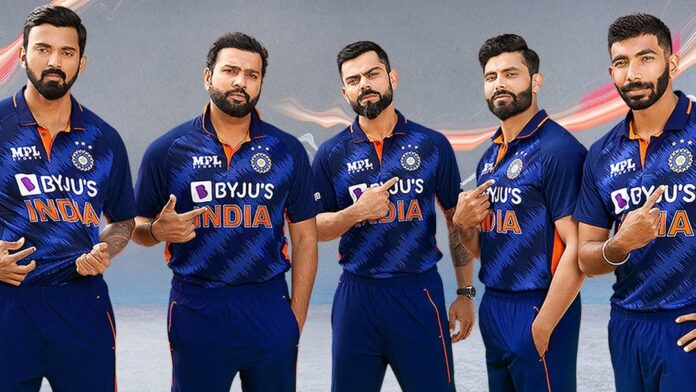 BCCI Launched the New Jersey for Men in Blue wear to be in the T20 World Cup 2021